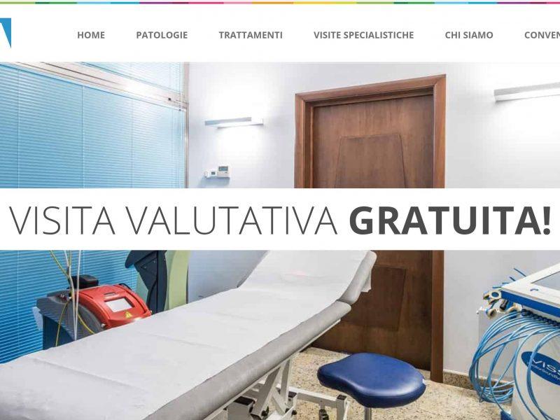 realizzazione sito web - fisiototerapia